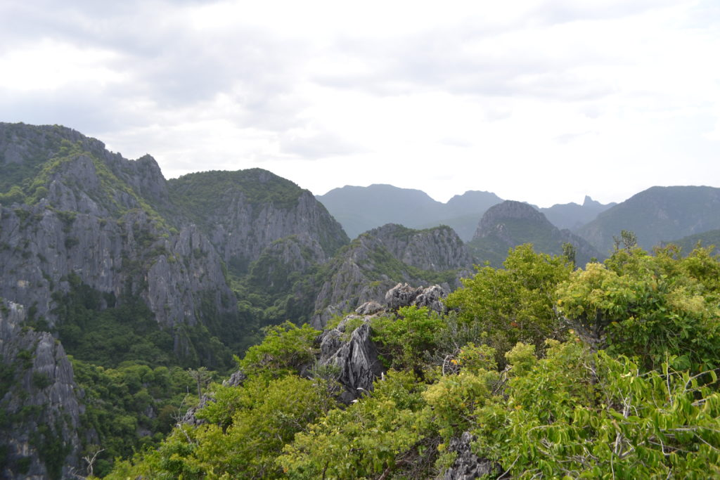 Falaises calcaires - Khao Daeng viewpoint - Thailand