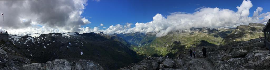 Point de vue Dalsnibba - Norvège