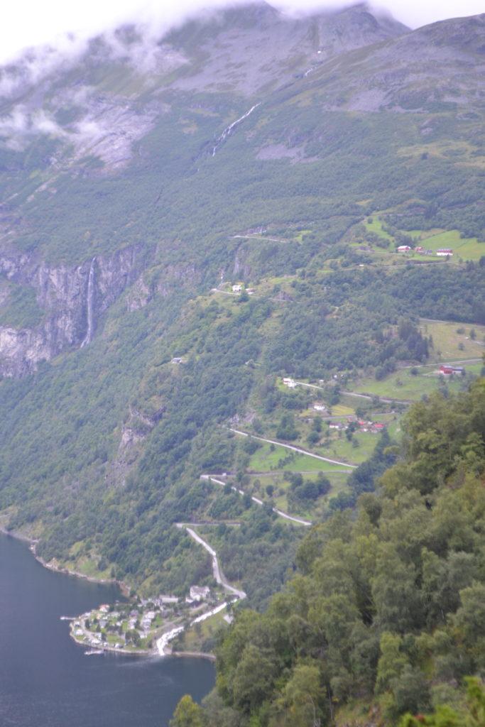 La route des aigles - Geirangerfjord - Norvège