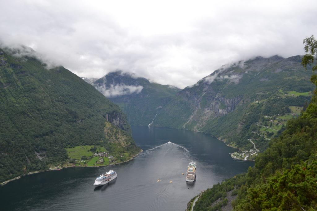 Randonnée Vesterasfjellet - Geirangerfjord - Norvège