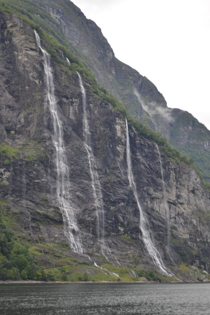 Les Sept Soeurs - Geirangerfjord - Norvège