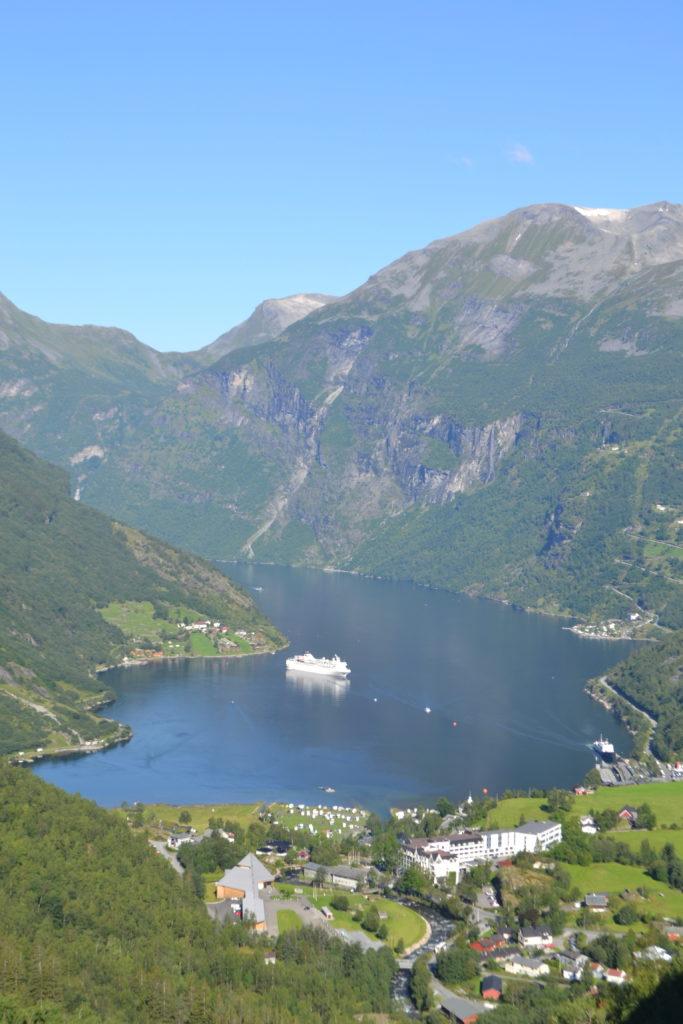 Point de vue de Flydalsjuvet - Geirangerfjord - Norvège