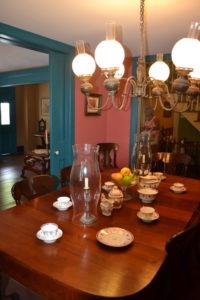 Salle à manger de la plus vieille maison de Key West