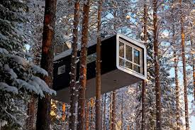 Tree Hotel - hôtels insolites Suède