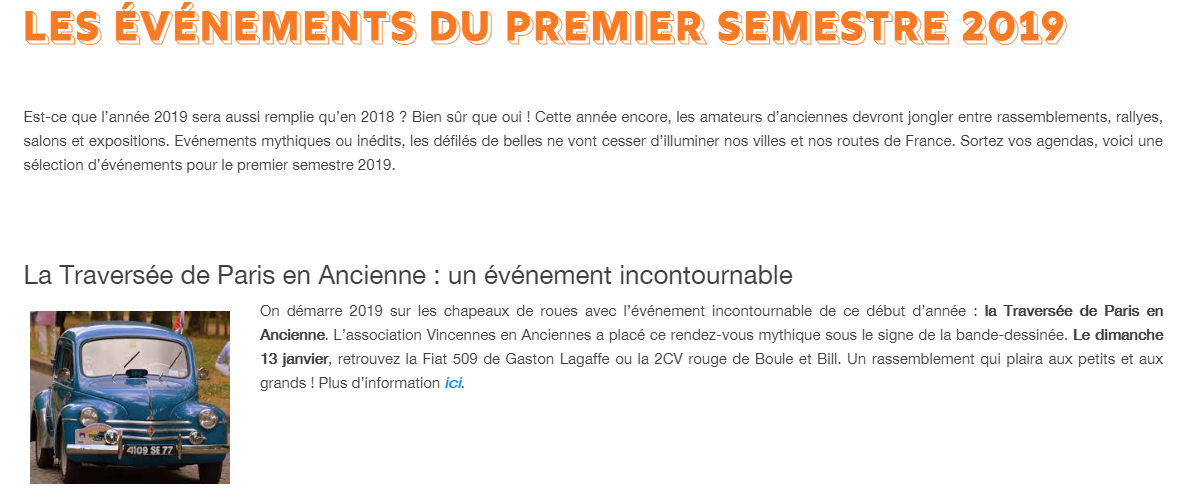 Following Members : newsletter décembre 2018